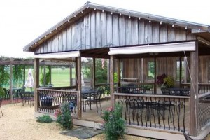 Iron Gate Winery front porch